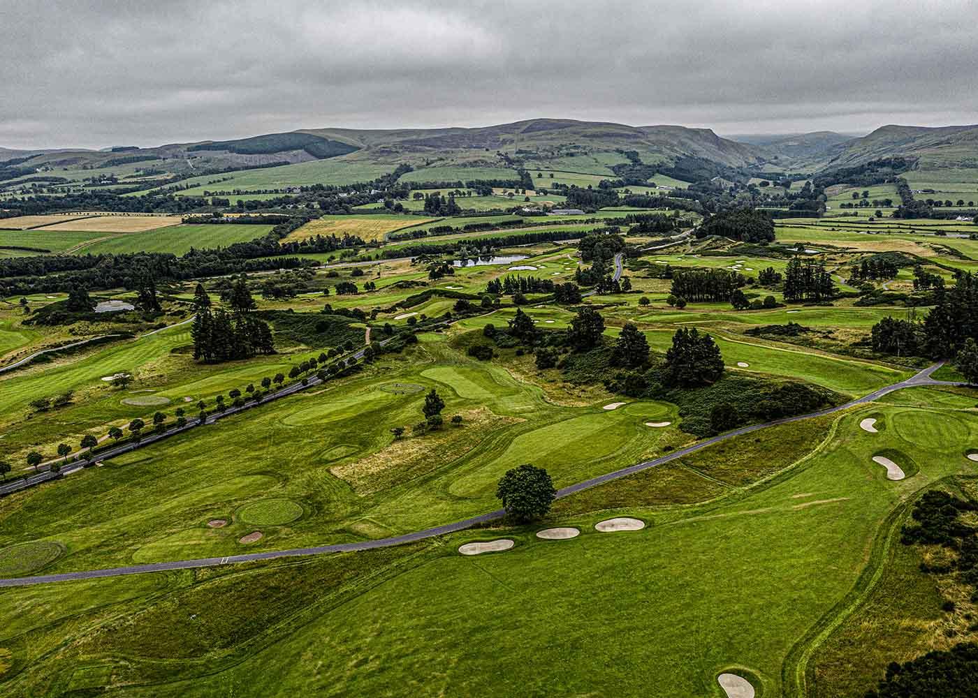 Golf Club aerial photograph