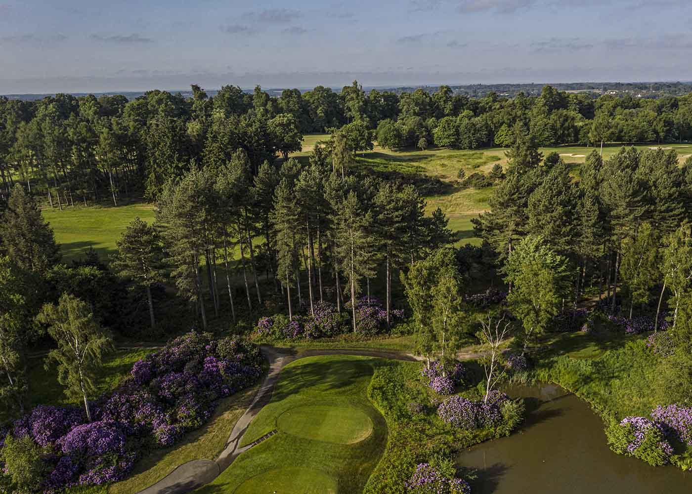 Golf Drone Photographer