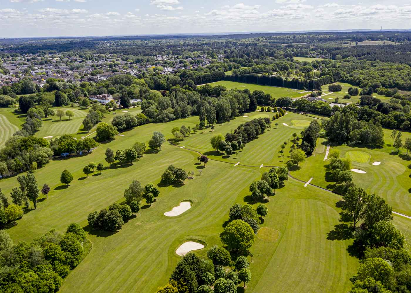 Golf Drone Photography