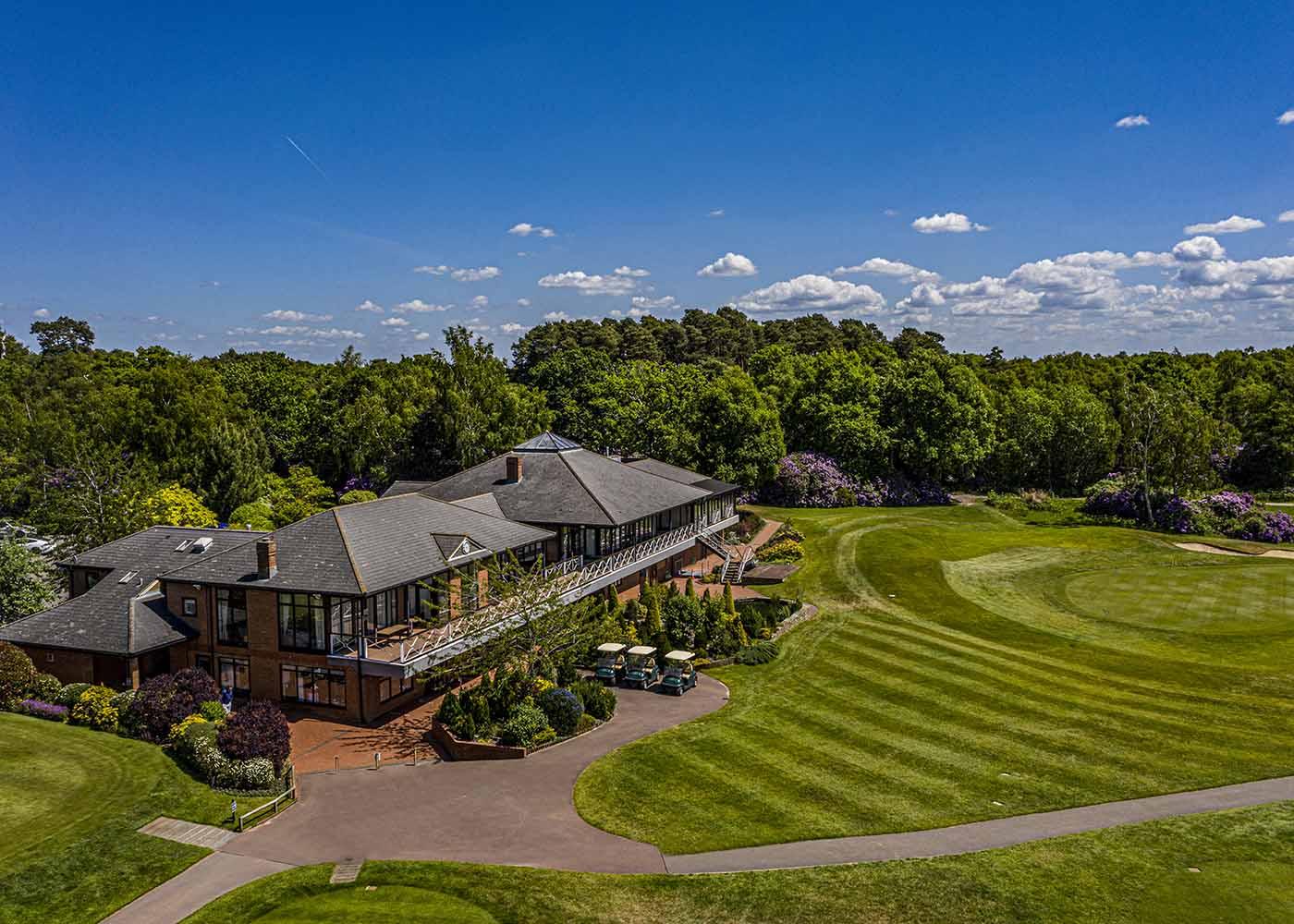 Golf Drone Photography Berkshire