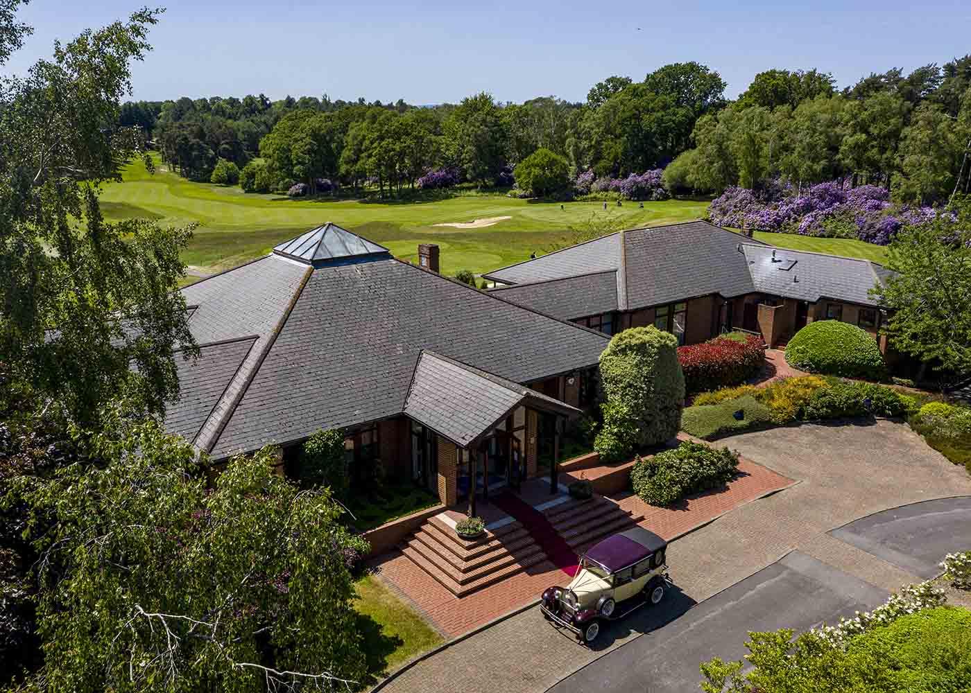 Golf Drone Photography Wokingham