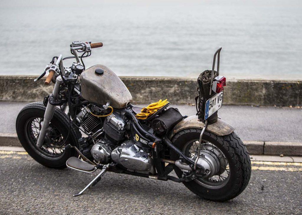 motorcycle branding photography