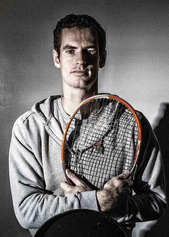 sports photography andy murray