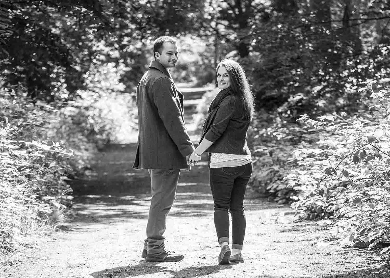 wedding engagement photo shoot hampshire