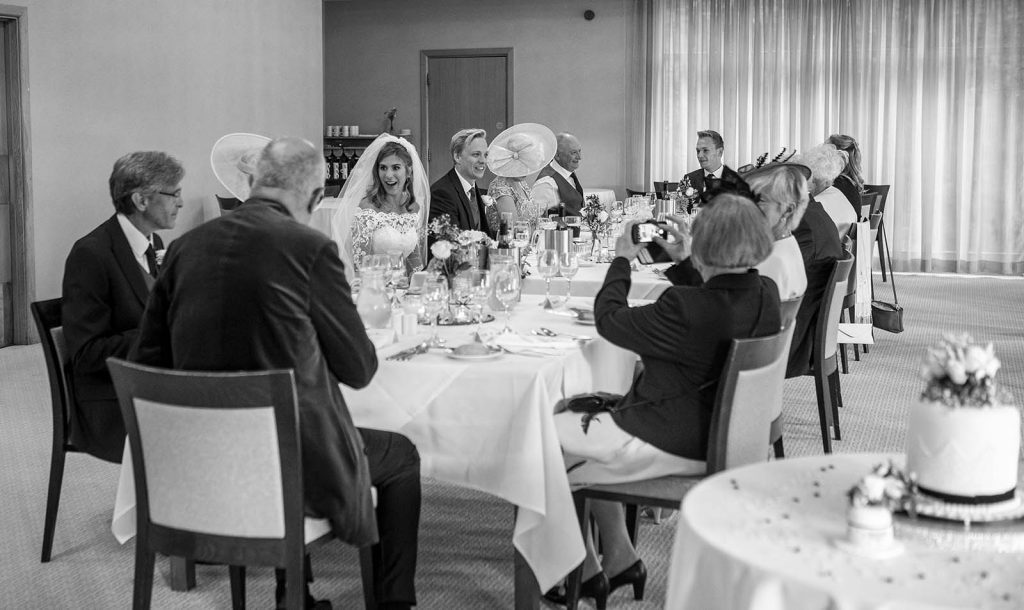 micro wedding reception Wokingham